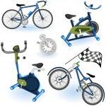 Sport equipment icons 2 — Stock Vector
