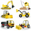 Stock Vector: Construction icons 3