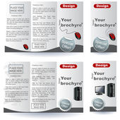 Brochure designs — Stock Vector