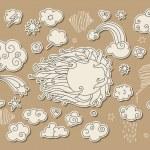 Sky doodle — Stock Vector #6614929