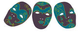 Carnival masks — Stock Vector