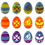 Easter egg set — Stock Vector #6630290