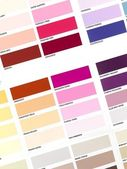 Color Paint Chart — Stock Photo