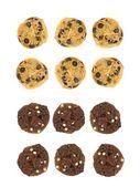 Choc Chip Cookies — Stock Photo