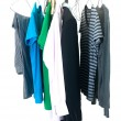 Hanging Garments — Stock Photo