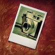 Stock Photo: Polaroide picture