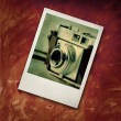 Polaroide picture — Stock Photo