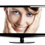 Lcd TV — Stock Photo