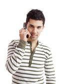 Making a phone call — Stock Photo