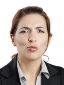 Making pout — Stock Photo