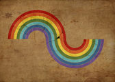 Raibow illustration — Stock Photo