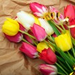 Bouquet of tulips - Stock Photo