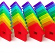 Abstract group of houses — Stock Photo #5997753