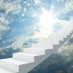 escada para o céu — Foto Stock