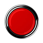 Red button — Stock Photo