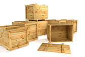 Crates — Stock Photo