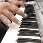 Musician Hands — Stock Photo