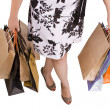 Stock Photo: Womshopping