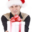 Stock Photo: Mwith gift