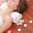 Stock Photo: Womin spa