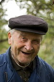 Old Man Smiling — Stock Photo