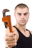 Repair man — Stockfoto