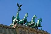 Quadriga on the Brandenburger Tor — Stock Photo