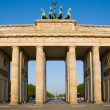 Brandenburger Tor in Berlin - Stock Photo