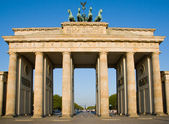 Brandenburger Tor in Berlin — Stockfoto