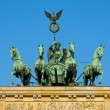 Quadriga on the Brandenburger Tor — Stock fotografie