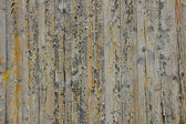 Wooden screen of boards — Stock Photo