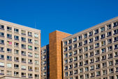 Edifício típico socialista — Foto Stock