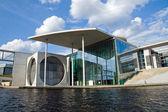 Neue regierungsgebäude in berlin — Stockfoto