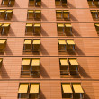 Orange apartment building — Stock Photo #6132537