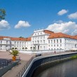 The palace of Oranienburg in Brandenburg - Stock Photo