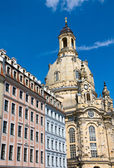 The Frauenkirche in Dresden — Stock Photo