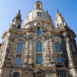 Stock Photo: Dresdens rebuilt Frauenkirche