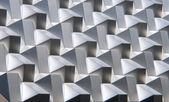Modern silver facade — Stock Photo