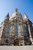 Dresdens rebuilt Frauenkirche — Stock Photo