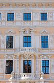 Hermosa fachada en dresden — Foto de Stock