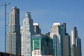 Skyskrapor i puerto madero — Stockfoto