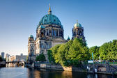 The backside of the Dom in Berlin — Foto Stock