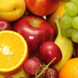 Foto Stock: Fresh fruits and vegetables