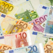 Background from euro — Stock Photo