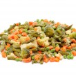 Frozen vegetables — Foto de stock #6393238
