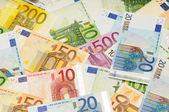Achtergrond van de euro — Stockfoto