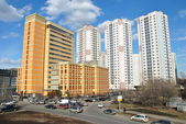 Modern district of Moscow — Stock Photo