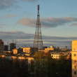 Television tower in Shabolovka — Stock Photo #5559377