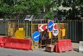 Road repair — Stock Photo