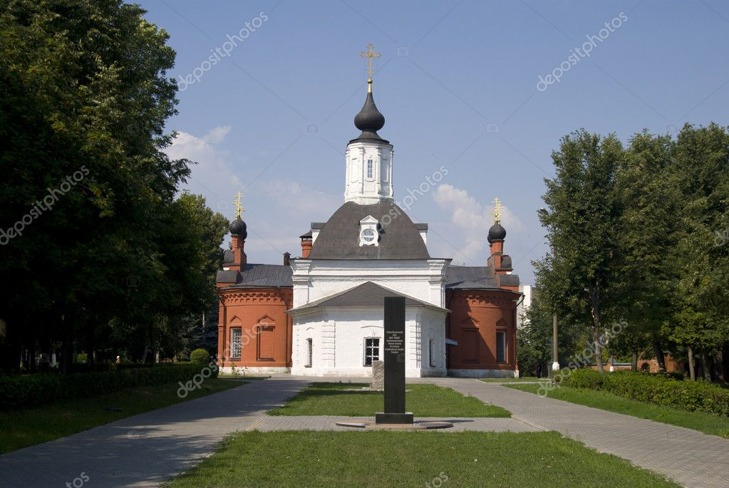 Churches and monasteries of Kolomna — Stock Photo #6152713